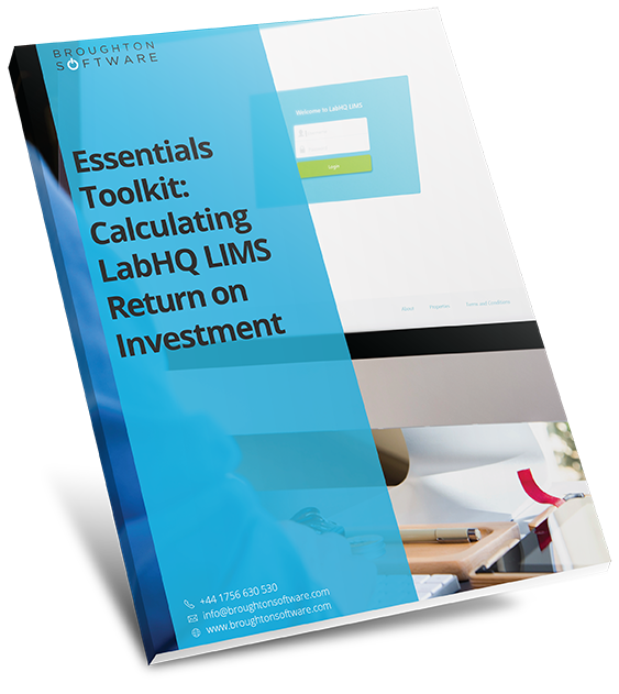essentials toolkit calculating lims return on investment book thumbnail